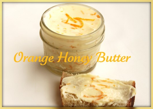 Orange Manuka Honey Butter