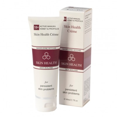 Skin Health Crème with Active Manuka Honey 18+ and Propolis (tube)
