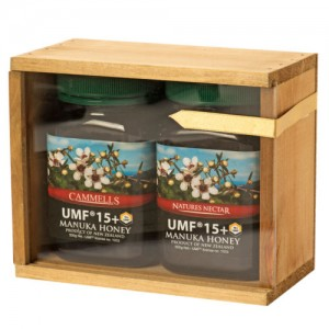 Gift Box of Cammells Pure Manuka Honey - 2 x UMF® 15+ jars