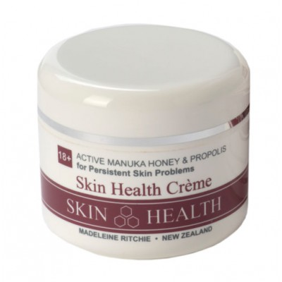 Skin Health Crème with Active Manuka Honey 18+ and Propolis (large jar)